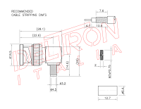 BNC-07F-1-TGN - Deltron Italia
